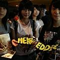 9/12 粉絲特別製作的Eddie和Hear Me的口罩