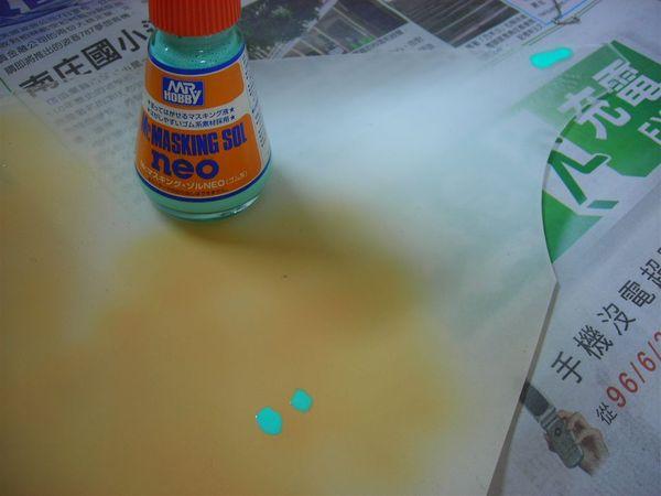 測試遮蓋膠強度與皮膚色強度...