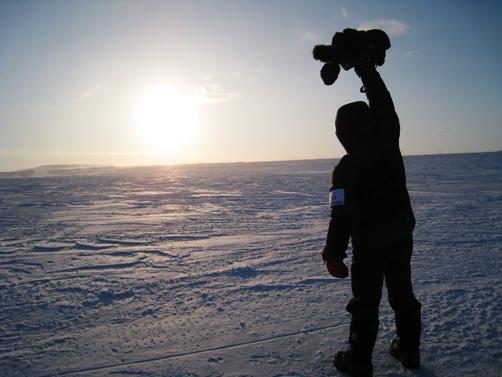 人......是沒有辦法征服北極的
