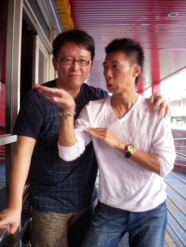 彥博:導演放心,我有迅猛龍的爆發力!!