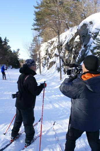 加拿大雪訓工作照