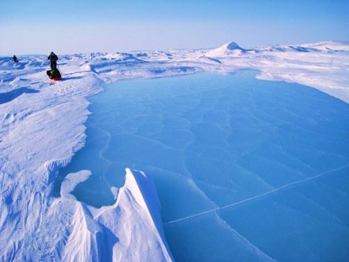 走過薄冰層