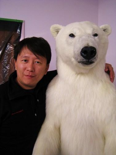 力州與北極熊