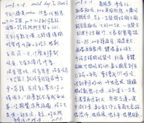 彥博日記0418及19