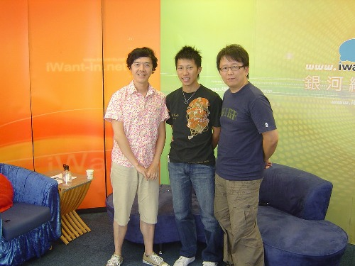 12/05銀河網路電台陳樂融專訪