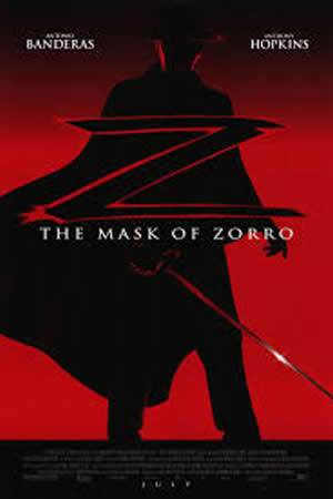 1998 The Mask of Zorro-s