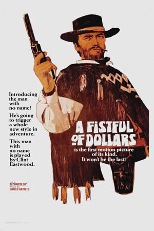 1964 A Fistful of Dollars