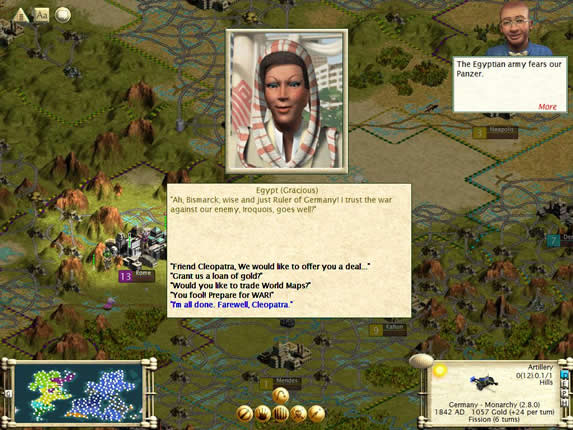 16與埃及結盟,伊洛奎陷入三面作戰-s