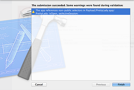 Xcode_SubmisionSuccessed