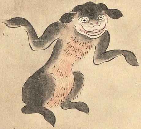 山彥(佐脇嵩之「百怪圖卷」)