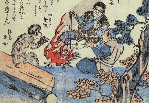覺(龍齋閑人正澄「狂歌百物語」)