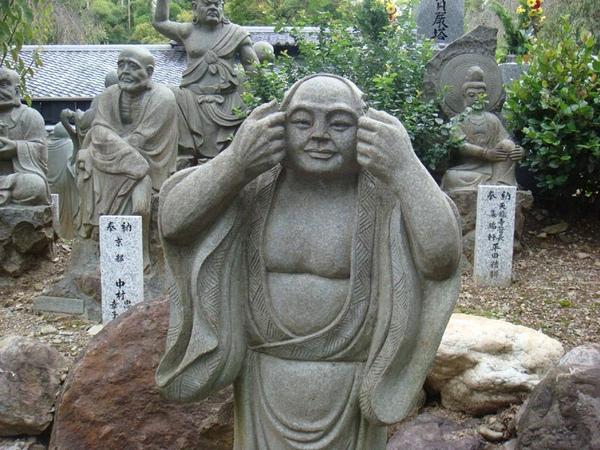 天龍寺路旁石像1.jpg
