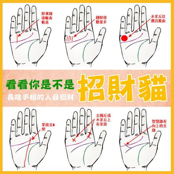 一直線 手相 靈感豐富直覺敏銳的手相(全部)(全部)