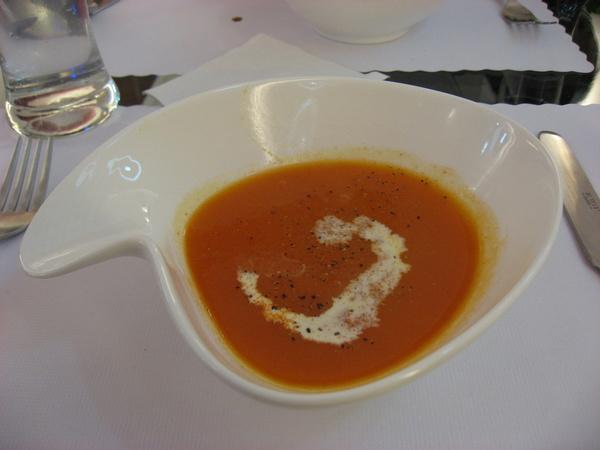 南瓜湯~連碗都很特別