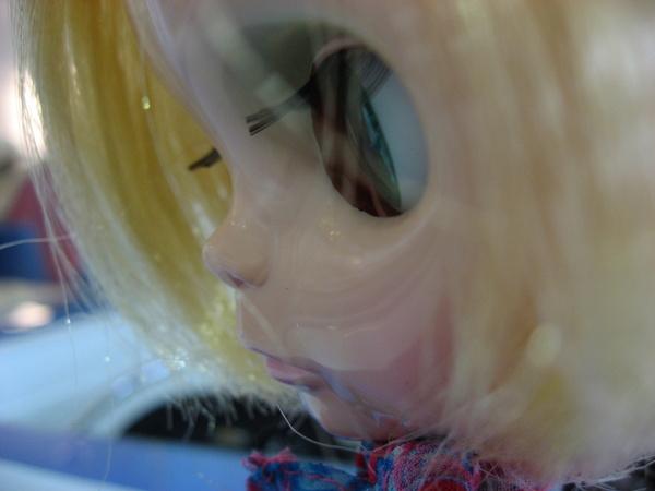 小布的眼睫毛好長喔