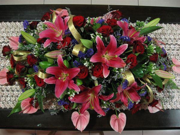 家裡客廳的花
