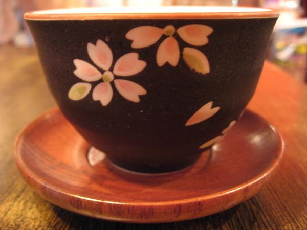 玄米茶~杯子很美