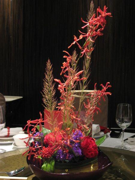 桌上的插花