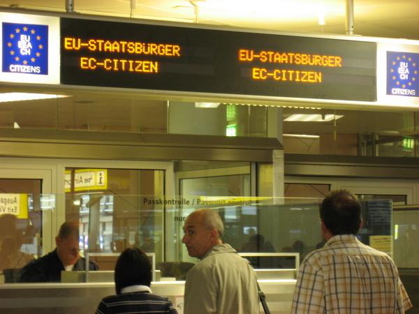 歐盟專用入境窗口