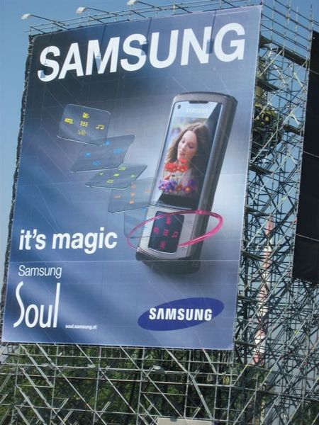 SAMSUNG 廣告
