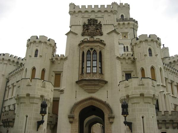 非常雄偉的城堡
