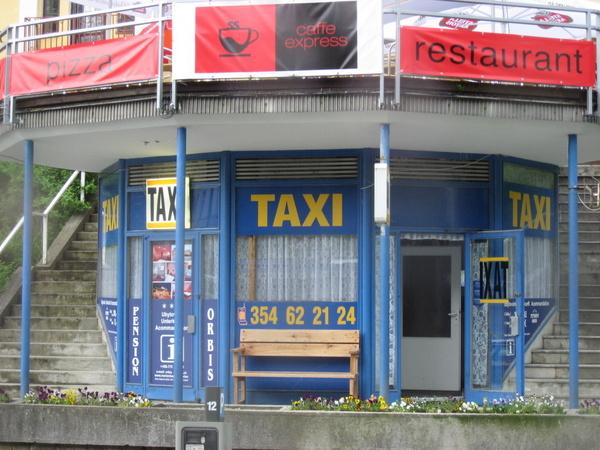 計程車招呼站
