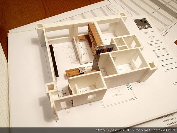 紐約室內設計模型