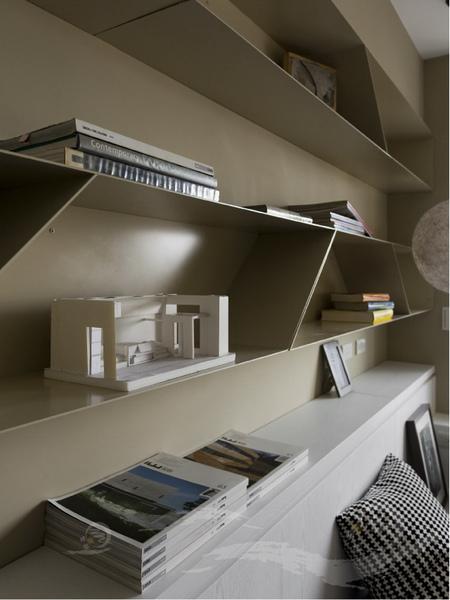 鐵件書櫃設計