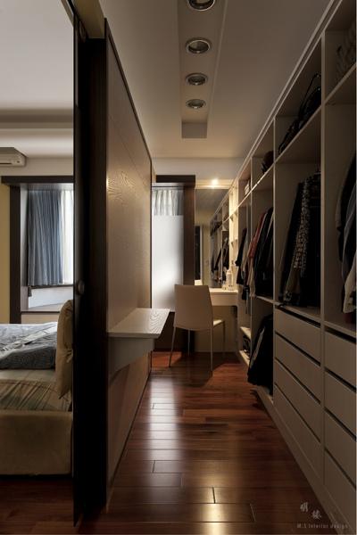ű�現個人品味的空間─更衣室 Ǧ�光室內裝修設計 Ǘ�客邦