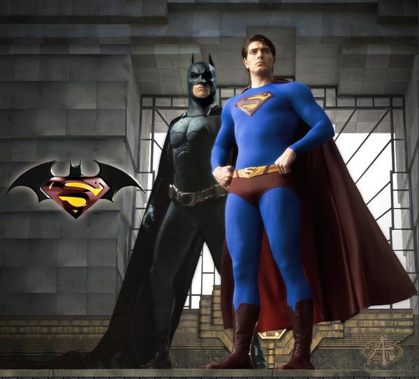 超人跟蝙蝠俠