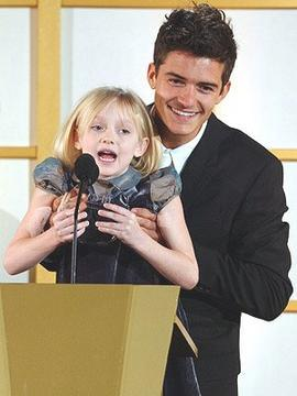 Orlando Bloom & Dakota Fanning