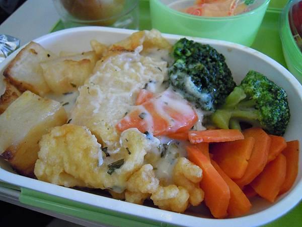 炸魚+馬鈴薯