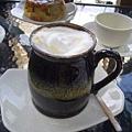 好望角咖啡的焦糖拿鐵