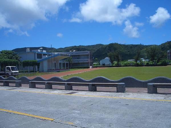綠島國中校園內
