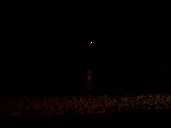 晚上的綠島