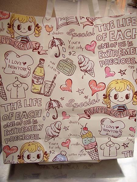 可愛的韓國袋子