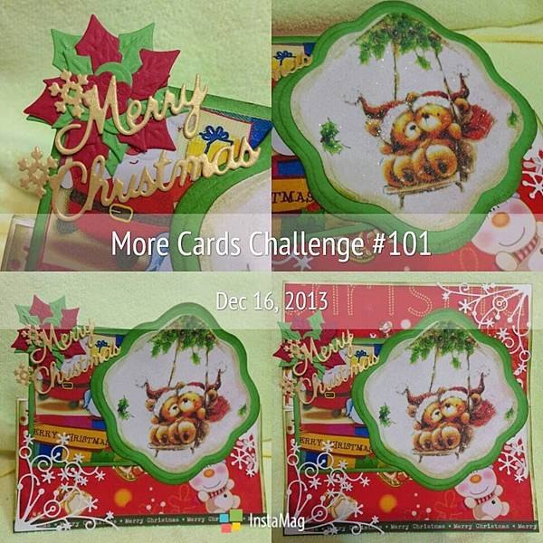 More Cards Challenge 魔卡挑戰 #101 -- MCC 構圖13