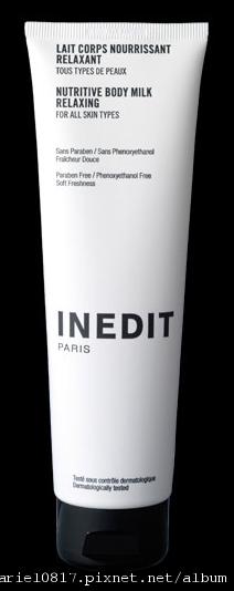 INEDIT Paris 的身體乳液