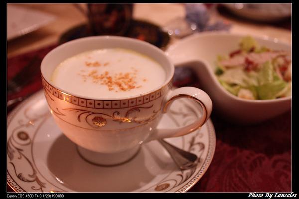 玉桂豆蔻拿鐵濃湯