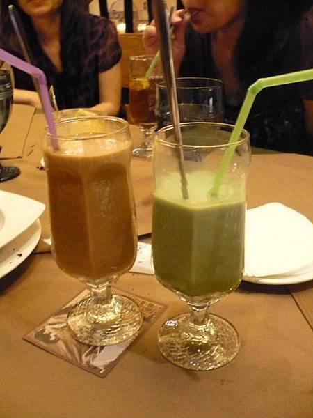 冰咖啡&抹茶青露