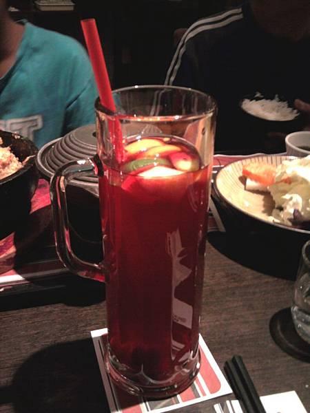 玫瑰果水果茶
