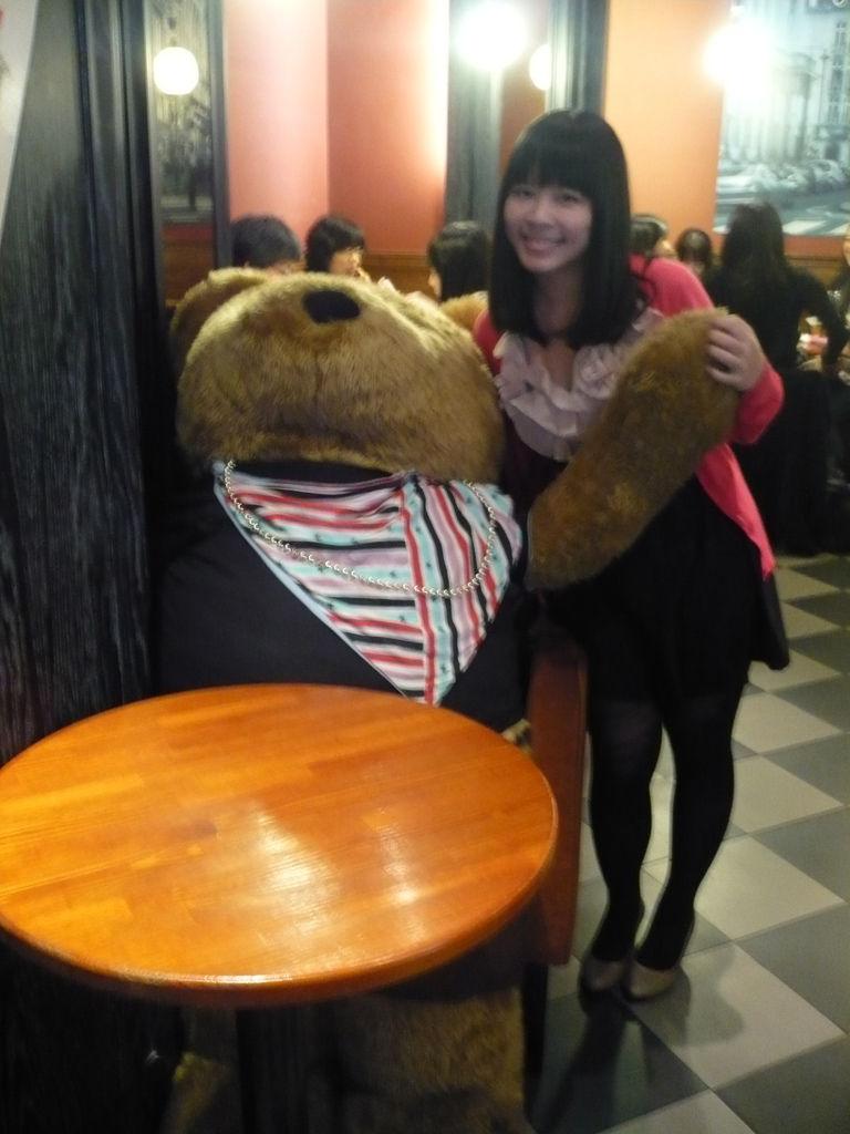 店內吉祥物─泰迪熊