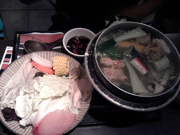 薑絲鮮魚鍋