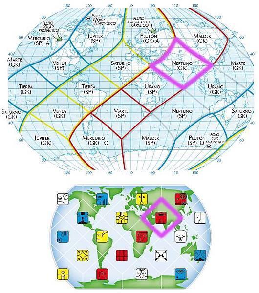 1紅龍地球全息圖