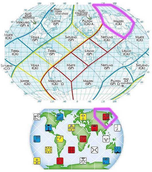 5紅蛇地球全息圖