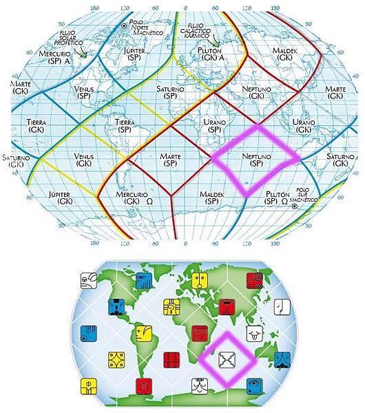 18白鏡子地球全息圖