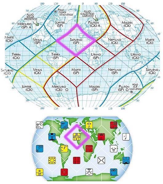 16黃戰士地球全息圖
