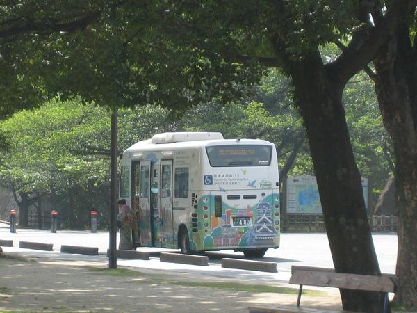 到各景點的觀光公車