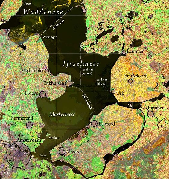IJsselmeer_satellite