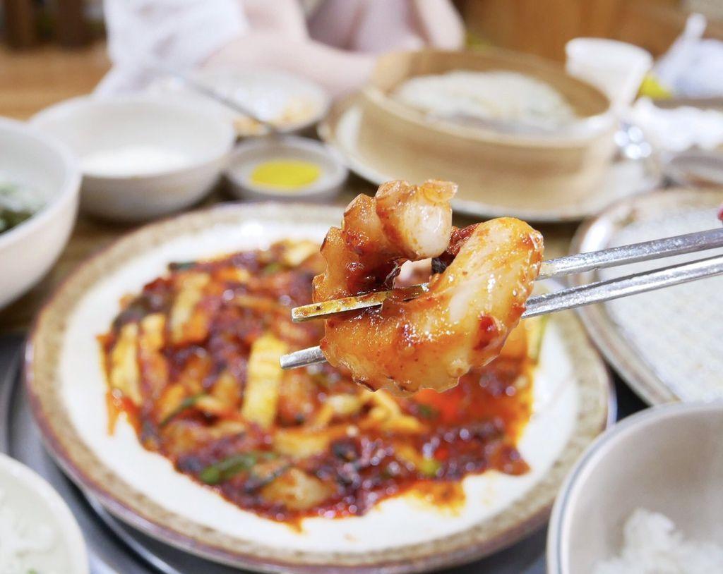 釜山必吃美食,善良章魚蓮山店